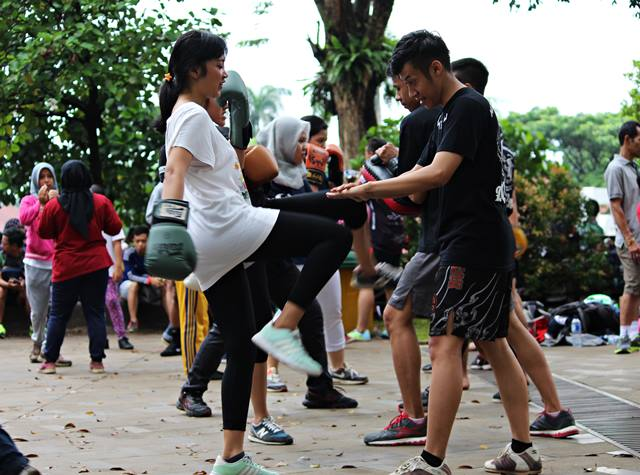Belajar Muay Thai di Bogor