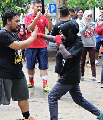 Pelatihan Muay Thai Gratis di Bogor