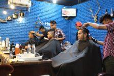 Hunky-Dory Barbershop : Langganannya Pak Jokowi Lho!
