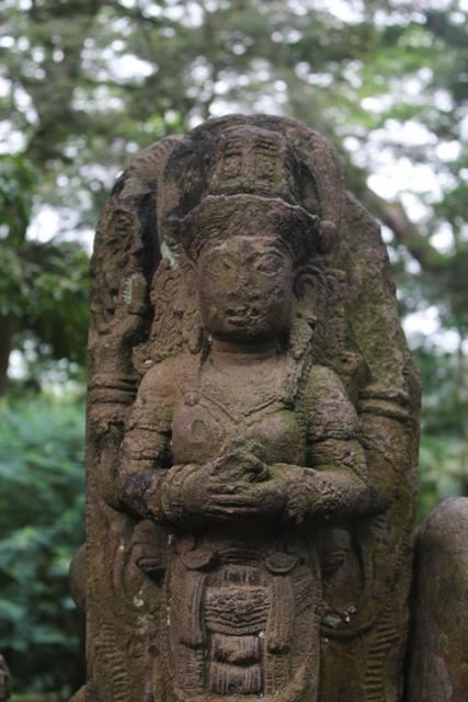 shiva god statue in Bogor Botanical Garden