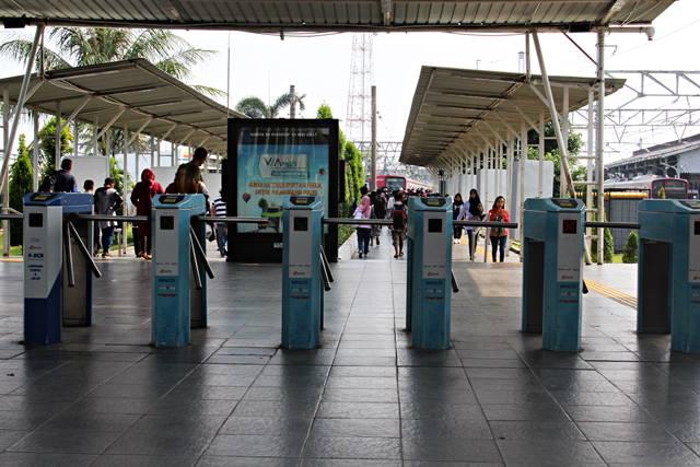 The Inside Look of Bogor Train Station