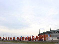 keramaian di stadion Pakansari Bogor