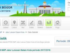 hasil ppdb smp kota bogor jalur akademik 2017-2018 3