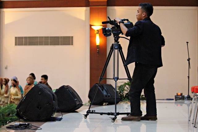 melihat siswa jurusan multimedia borcess beraksi