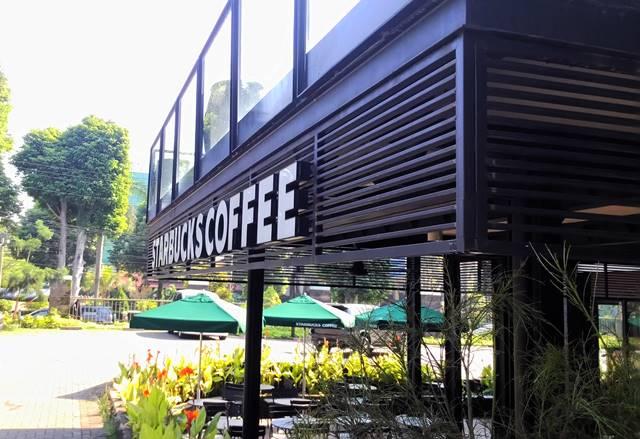 starbucks coffee di teras yasmin bogor