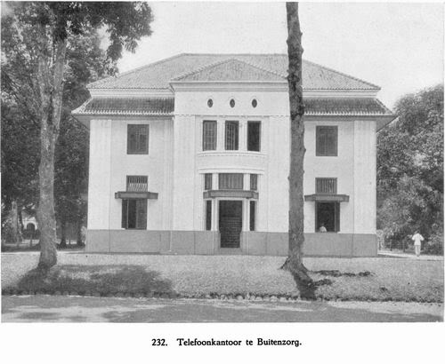 Telefoon Kantoor te Buitenzorg - Kantor Telepon Bogor Cagar Budaya. 3