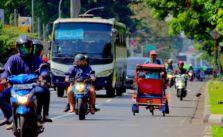 [Masih Ada!] Becak Masih Beroperasi di Jalan Protokol Kota Bogor