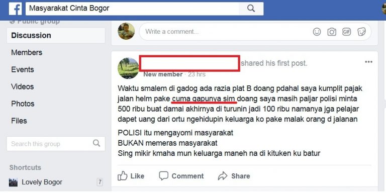[Miris] Baca Status Facebook Seperti Ini : Membuka Aib Diri Sendiri