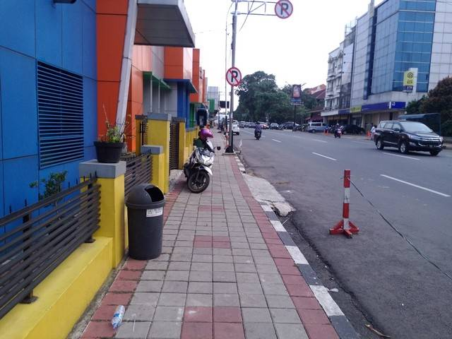 Perlukah Bulan Tertib Trotoar di Kota Bogor b
