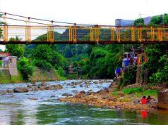 4 Jembatan Gantung di Sempur - Jembatan Gantung Sempur - Lebak Pilar 2