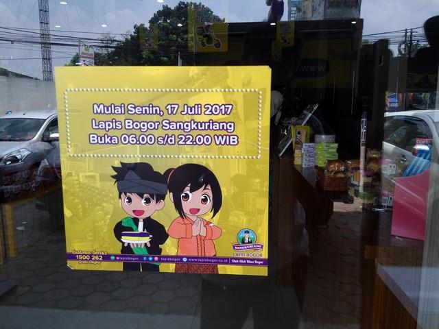 Lapis Bogor Sangkuriang Tidak Hanya Menawarkan Lapis Talas Lho!