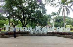 Kencana Park - The Favorite Gathering Place , Night and Day