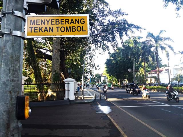 Kota Bogor Sudah Punya Pelican Crossing