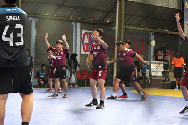 Yang Tersisa Dari Liga Handball - Bola Tangan SMA di Bogor 2018 3 - MENGANGKAT TANGAN