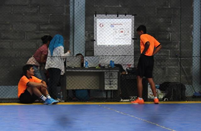 Yang Tersisa Dari Liga Handball - Bola Tangan SMA di Bogor 2018 - WASIT MEMBETULKAN CELANA