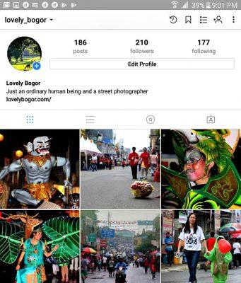 Lovely Bogor ada di Instagram