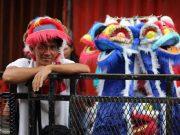 Para Pencari Rejeki di ajang Cap Go Meh Bogor 2018