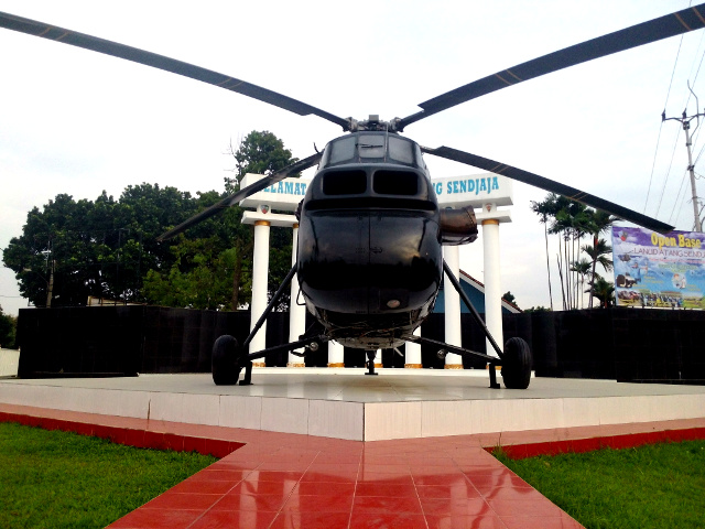Monumen Helikopter – Home of chopper