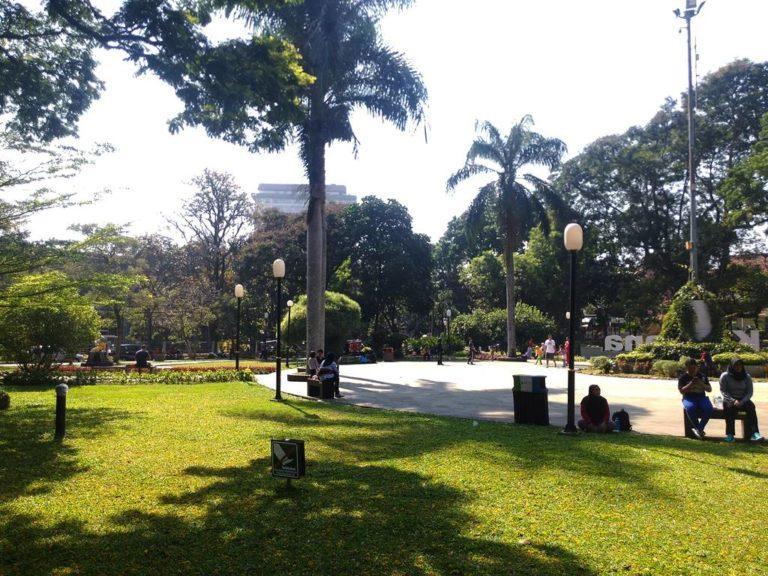 Banyak Pengunjung Taman Kencana Yang Tidak Menjaga Kebersihan