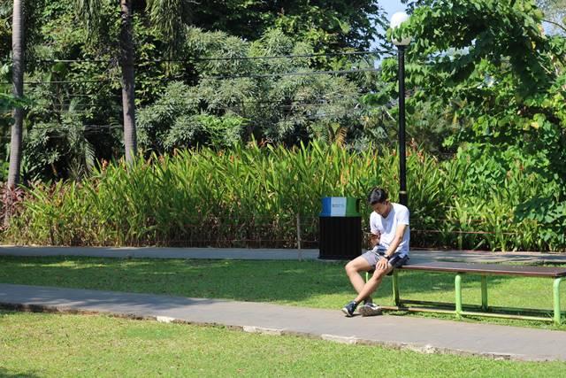Siapa Bilang Taman Kota Hanya Untuk Bermain Saja ?