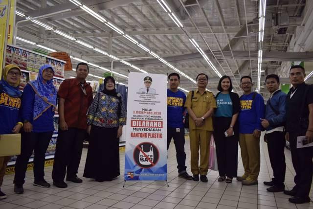 Toko Modern dan Pusat Perbelanjaan Kota Bogor Dilarang Menyediakan Kantong Plastik Mulai 1 Desember 2018