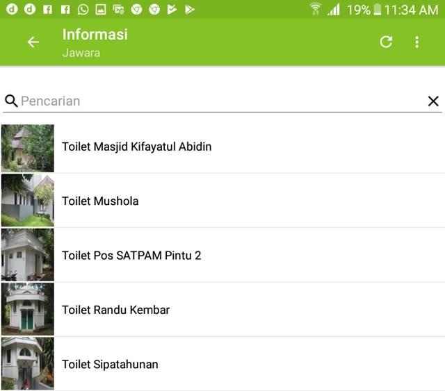 aplikasi jawara - Jelajah wisata dan belajar di kebun raya indonesia E