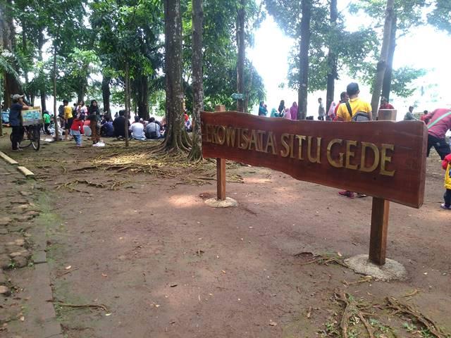 Papan Ekowisata Situ Gede
