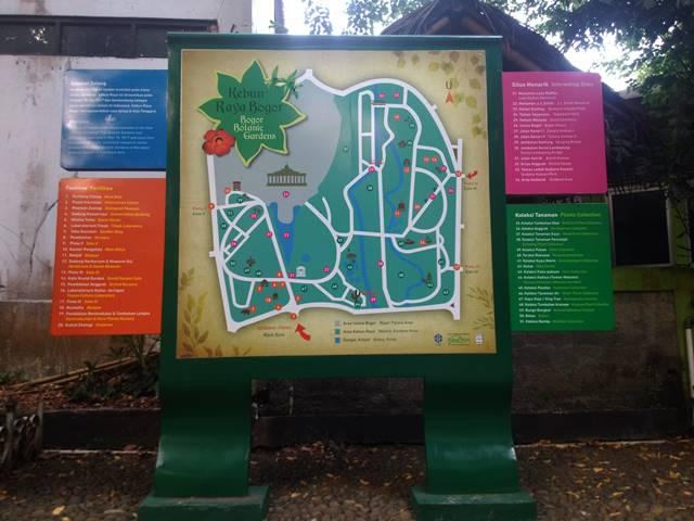 Peta Kebun Raya Bogor : Untuk Yang Butuh Saja