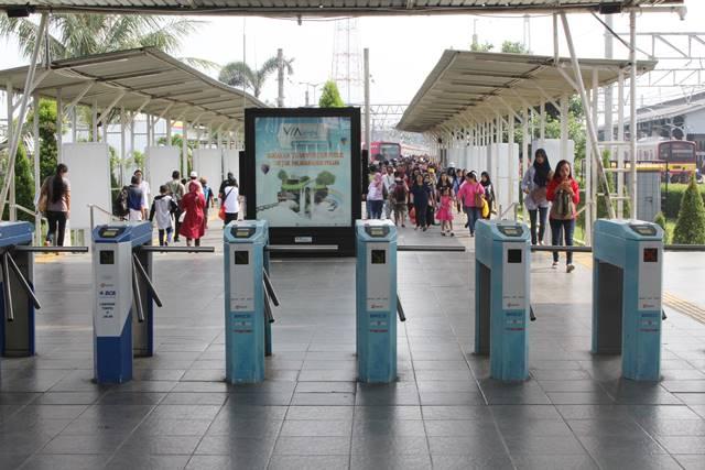 ara Menuju Serpong Dari Bogor Dengan Commuter Line