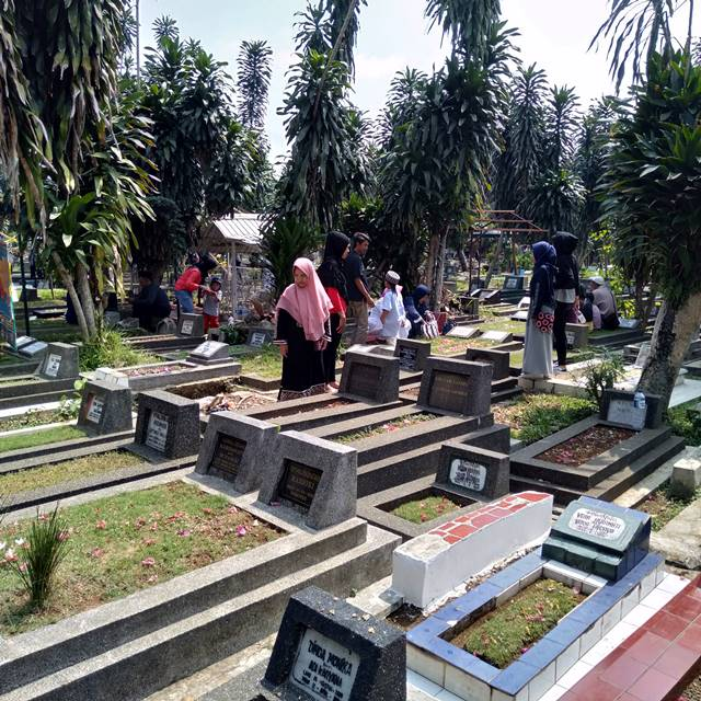 Ketika Pemakaman Berubah Menjadi Pasar