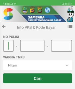 Cara Bayar Pajak Kendaraan Bermotor Dengan Kartu Kredit Lewat e-Samsat Online Tokopedia 2-APLIKASI SAMBARA