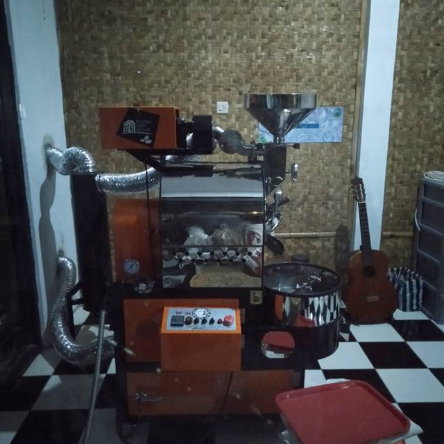 Mesin Roasting Rumah Kopi Bogor