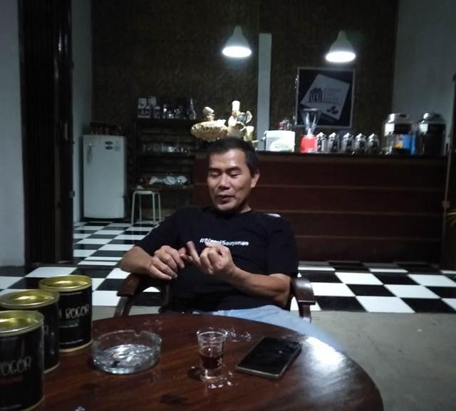 Rumah Kopi Bogor Ada Idealisme dan Mimpi Di Dalamnya - Ismanto Danu Pemilik