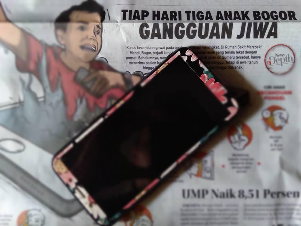 Hati-Hati Penyakita Nomophobia Tiga Anak Di Bogor Terkena Gangguan Jiwa Ini Tiap Harinya