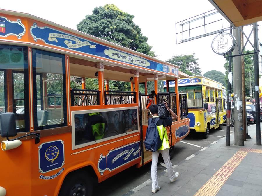 Tiga Warna Bus Uncal - Dipikir Cuma Satu Warna Saja 3