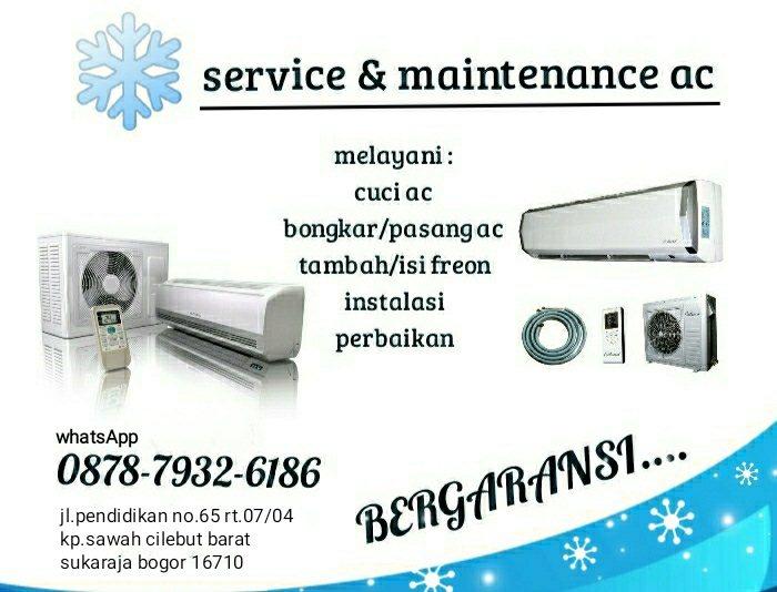Jasa Service Dan Perawatan AC Mang Lehman A