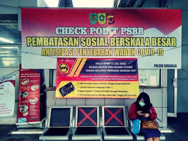 Stasiun Bogor dan Cilebut Jadi Stasiun Khusus Non THB (Tiket Harin Berjaminan) A