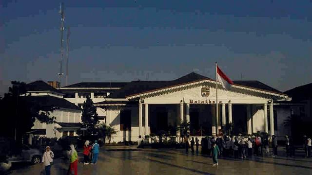 Bogor City Hall in Juanda Street