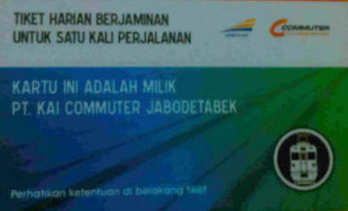 Begini cara naik KRL Jabodetabek - Tiket Harian Berjaminan