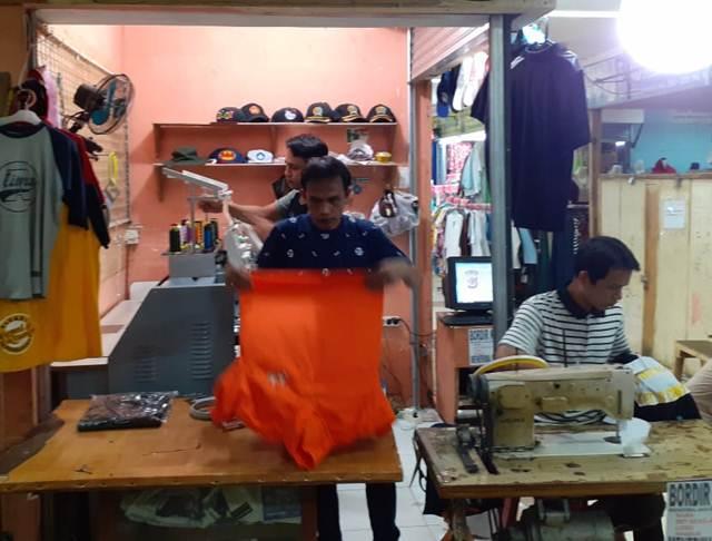 Indra Bordir - Menerima Jasa Bordir Jaket, Kaos, Baju Sekolah 2