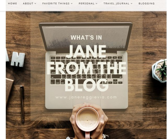 Jane From The Blog : Mom Blogger Keren Punya Kota Hujan