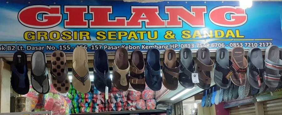 toko sepatu dan sandal gilang A