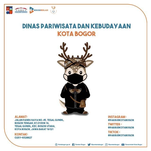 Banner Digital Menarik Dinas Pariwisata dan Kebudayaan Kota Bogor