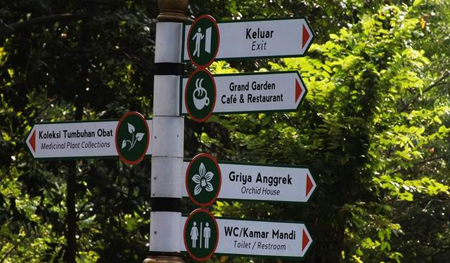 Dilarang Menerbangkan Drone Di Kebun Raya Bogor